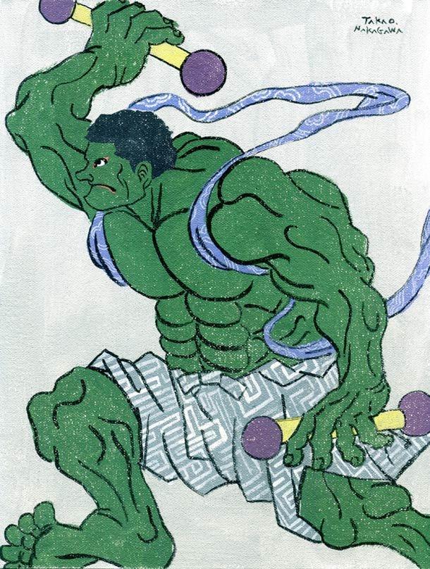 Ukiyoe Character series 2