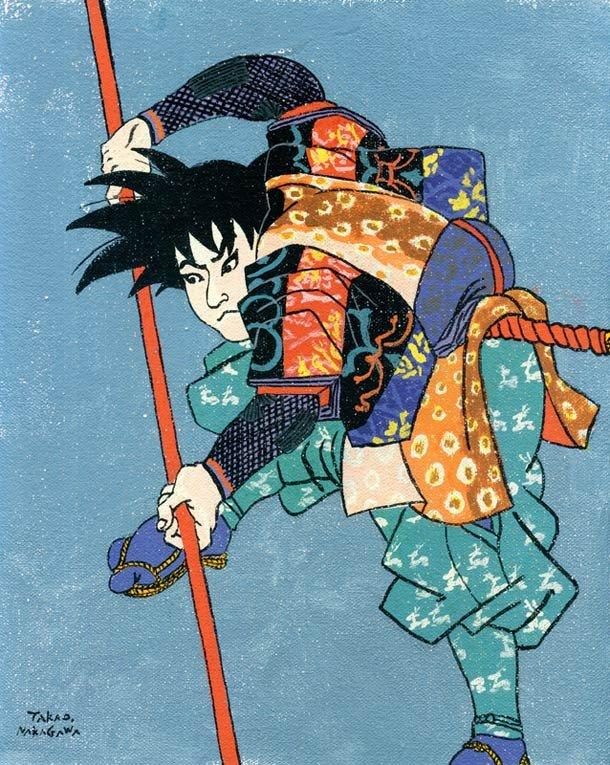 Ukiyoe Character series 9
