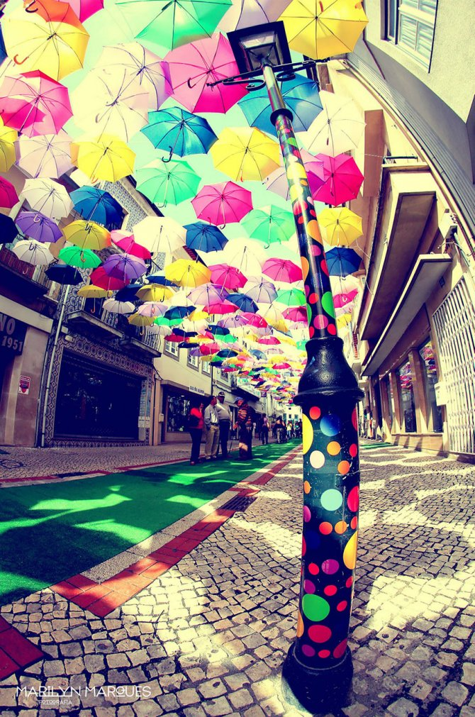 floating umbrellas agueda portugal 2014 9
