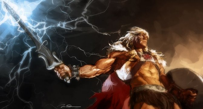 he man epic masters of the universe redesign gives he man kick ass new look