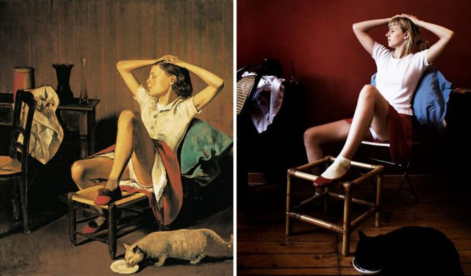 modern photo remakes famous paintings 2