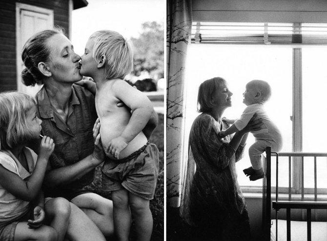 mothers childhood photography family ken heyman 16