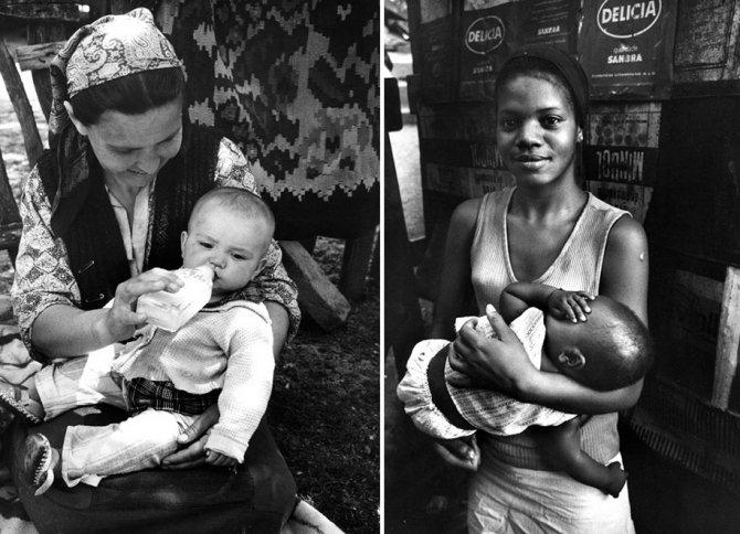 mothers childhood photography family ken heyman 18
