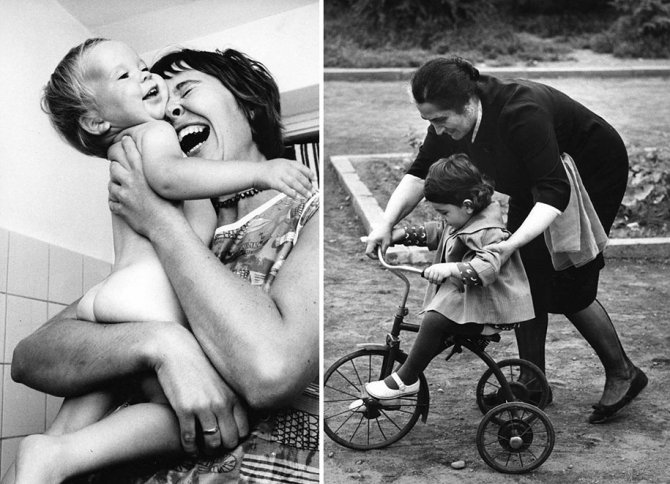 mothers childhood photography family ken heyman 2