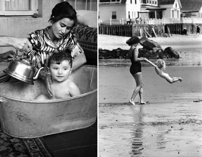 mothers childhood photography family ken heyman 4