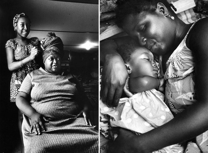 mothers childhood photography family ken heyman 8