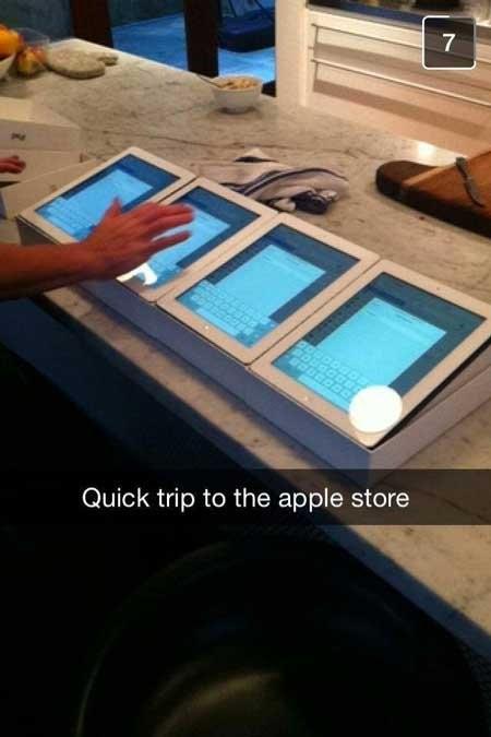 rich kids snapchat apple