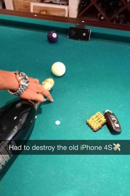 rich kids snapchat iphone