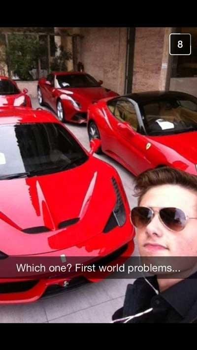 rich kids snapchat problems