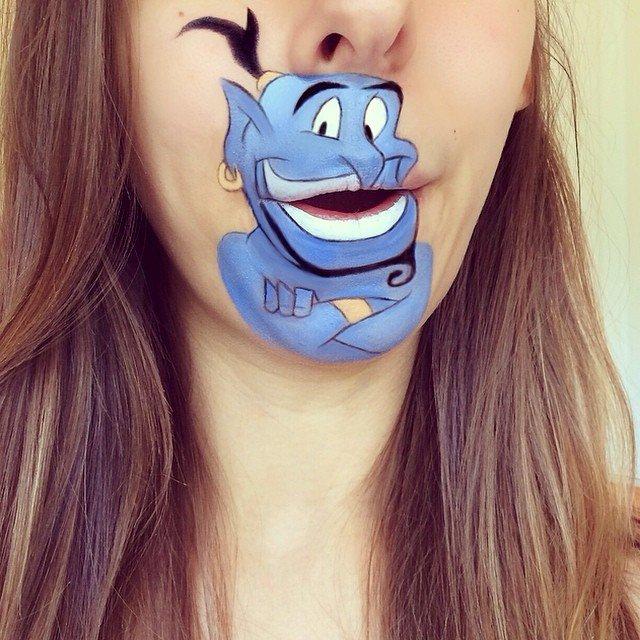 trucco personaggio cartone animato bocca 1