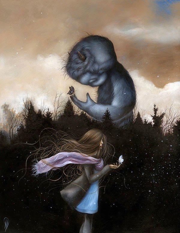 disegni mostri creature selvagge dan may 4