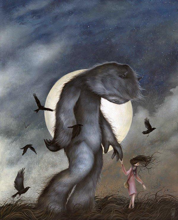 disegni mostri creature selvagge dan may 6