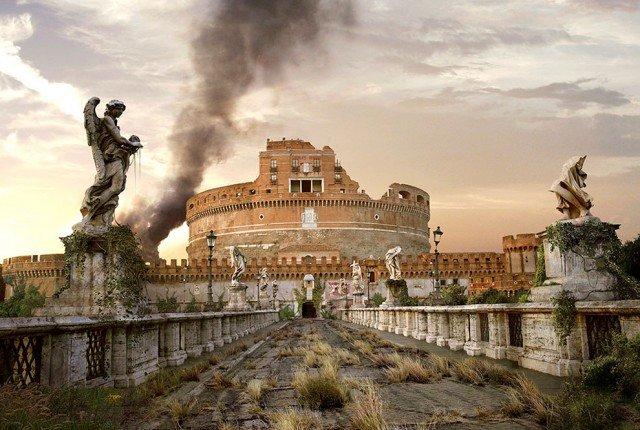 monumenti mondo apocalisse distrutto guerra 30