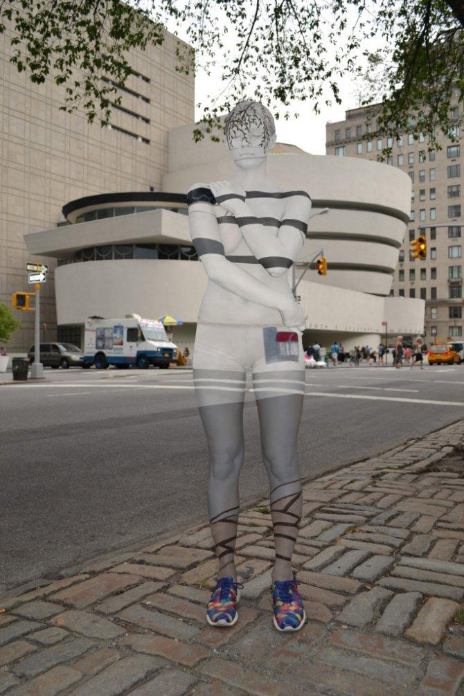 Tina-Merry-New-York-Body-Painting-Guggenheim-Museum