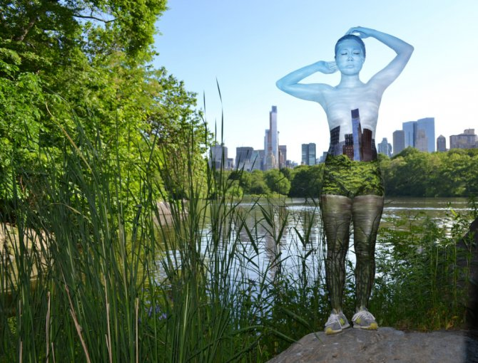 Tina-Merry-New-York-Body-Painting-central-park