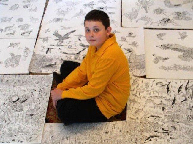 disegni bambino undici anni 6