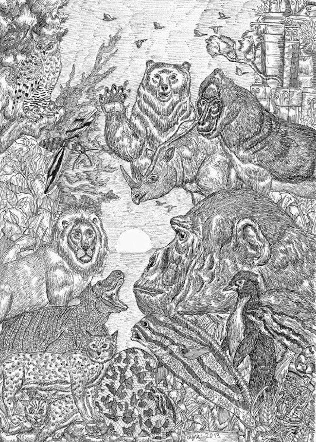 disegni bambino undici anni 7