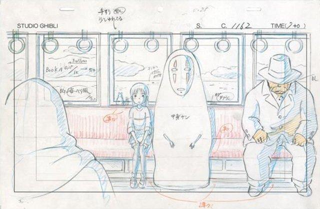 mostra disegni miyazaki studio ghibli 2