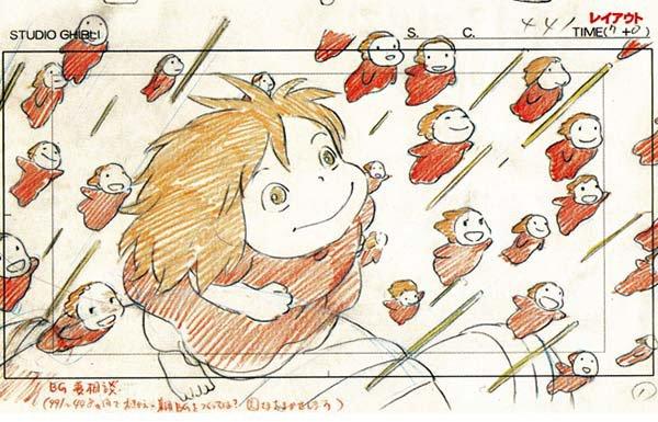 mostra disegni miyazaki studio ghibli 3