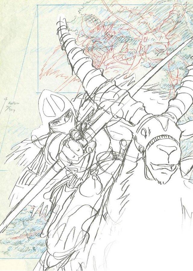 mostra disegni miyazaki studio ghibli 9