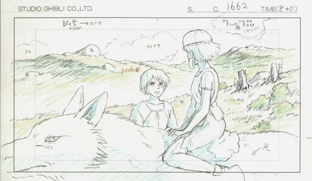 mostra disegni miyazaki studio ghibli 7
