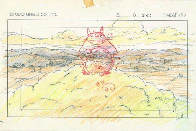mostra disegni miyazaki studio ghibli 8