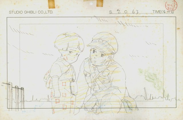 mostra disegni miyazaki studio ghibli 4