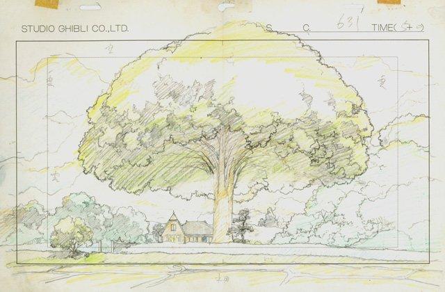 mostra disegni miyazaki studio ghibli 6