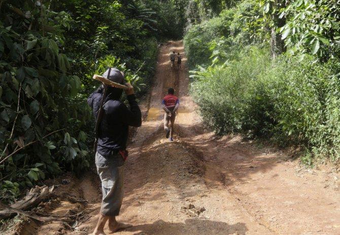 amazzonia tribu attacca taglialegna alberi 12