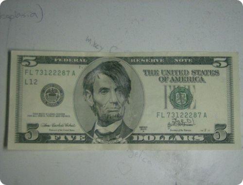 banconote modificate disegni dollari supereroi 46