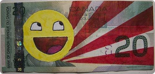 banconote modificate disegni dollari supereroi 41