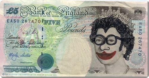 banconote modificate disegni dollari supereroi 15