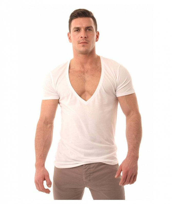 deep-low-v-neck-t-shirts-for-men
