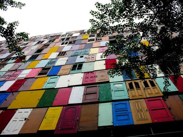palazzo mille porte installazione 5