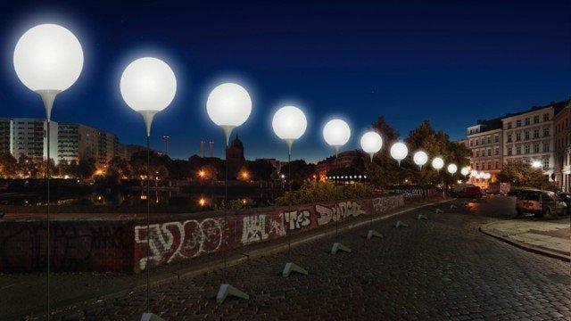 berlino muro luci 3