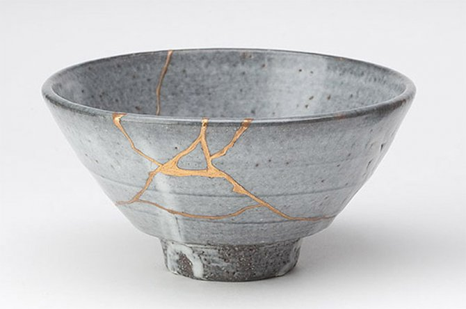 kintsugi riparare ceramiche 1