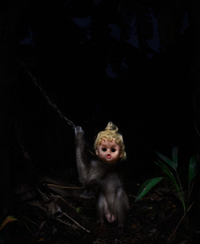 scimmia bambola incubo terrore 3