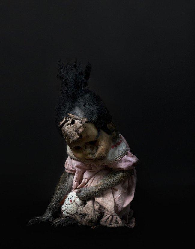 scimmia bambola incubo terrore 5