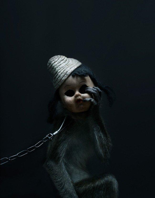 scimmia bambola incubo terrore 6