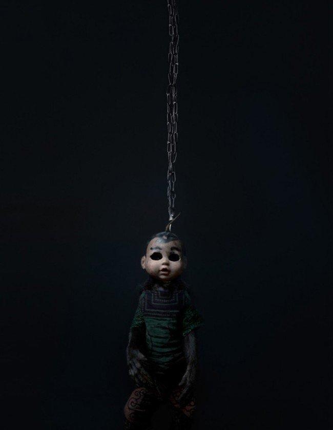 scimmia bambola incubo terrore 8