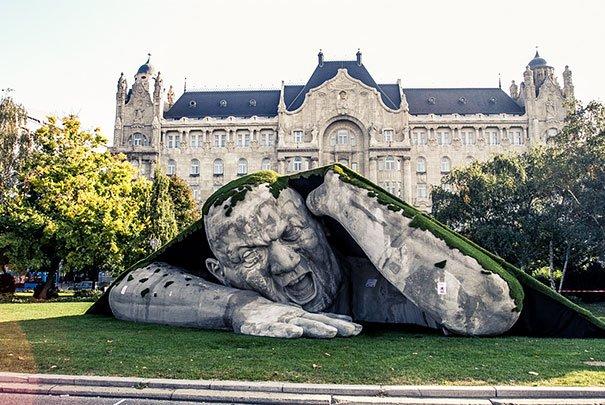 feltepve sculpture art market budapest ervin loranth herve 2