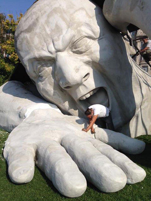 feltepve sculpture art market budapest ervin loranth herve 61