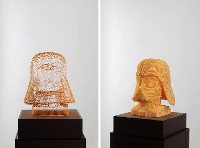 scultura carta invisibile 1