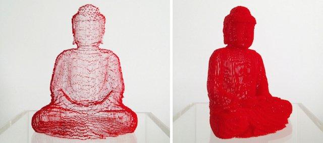 scultura carta invisibile 3
