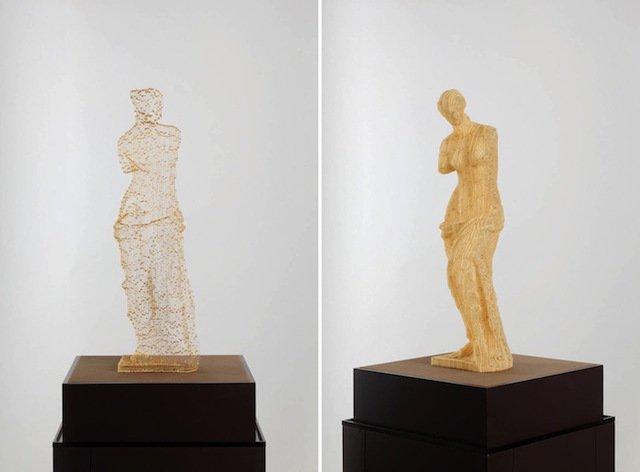 scultura carta invisibile 4