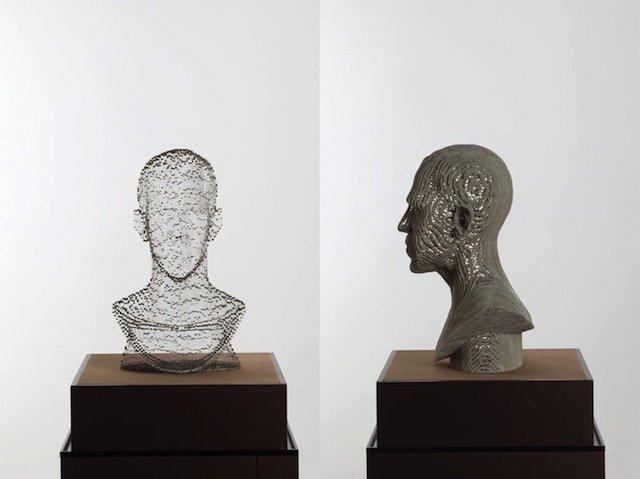 scultura carta invisibile 5