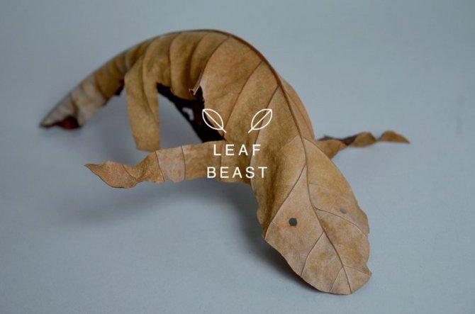 sculture foglie 7