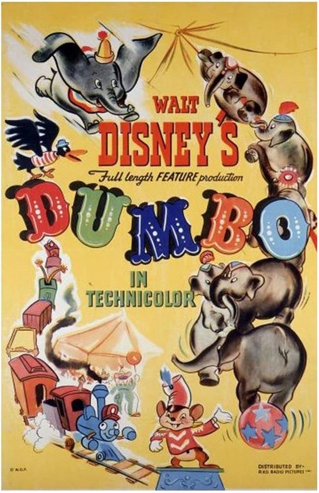 poster originali film disney 2