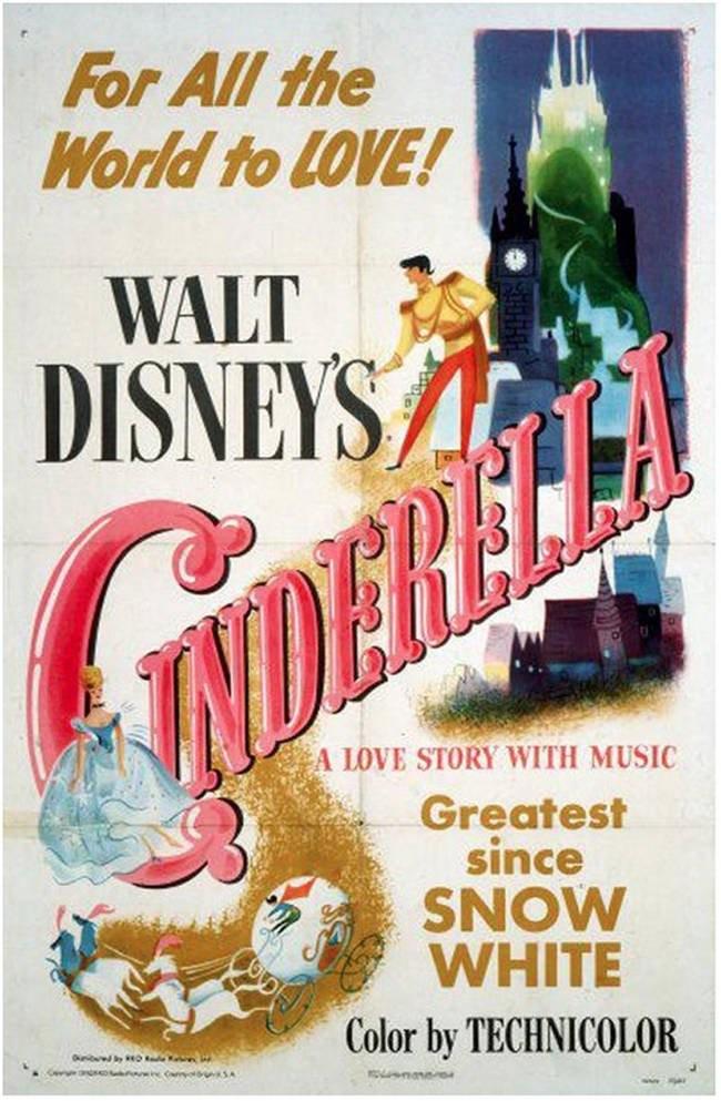 poster originali film disney 3