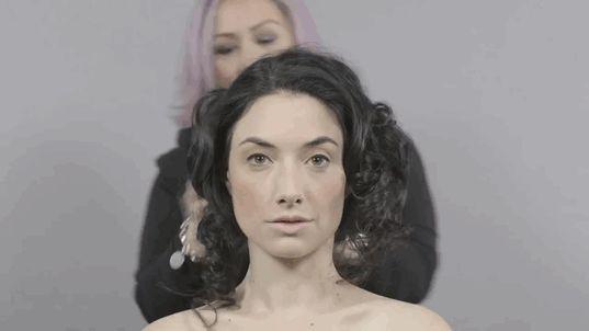 cento anni makeup trucco 1